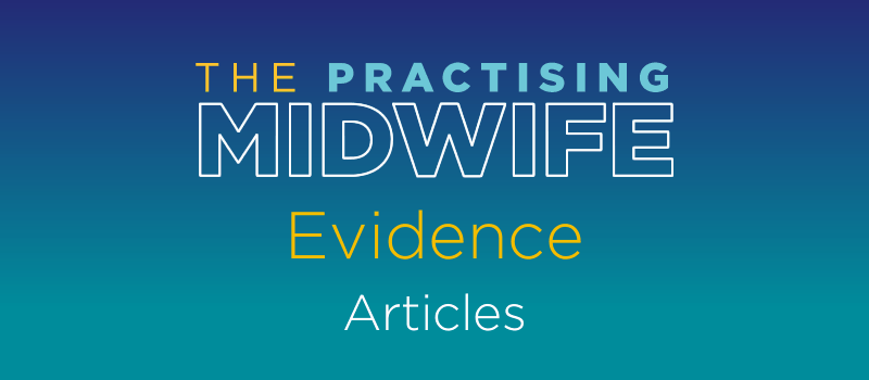 Articles - Evidence