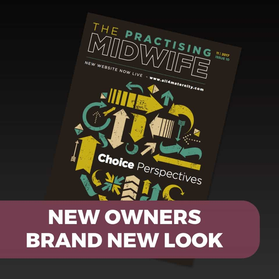 The Practising Midwife new look
